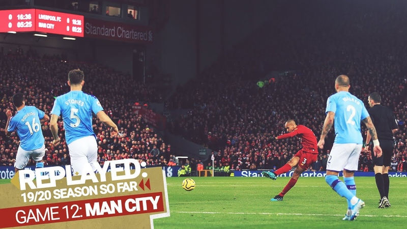 REPLAYED Liverpool 3 1 Man City Fabinho's screamer sets the Reds up for big Anfield win