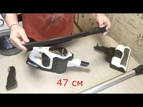 Пылесос ручной handstick Bosch Unlimited Serie 8 BCS1ALL домашний обзор