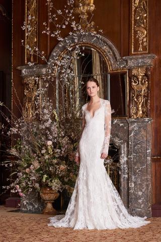 Monique Lhuillier Spring 2019 Bridal New York Collection.