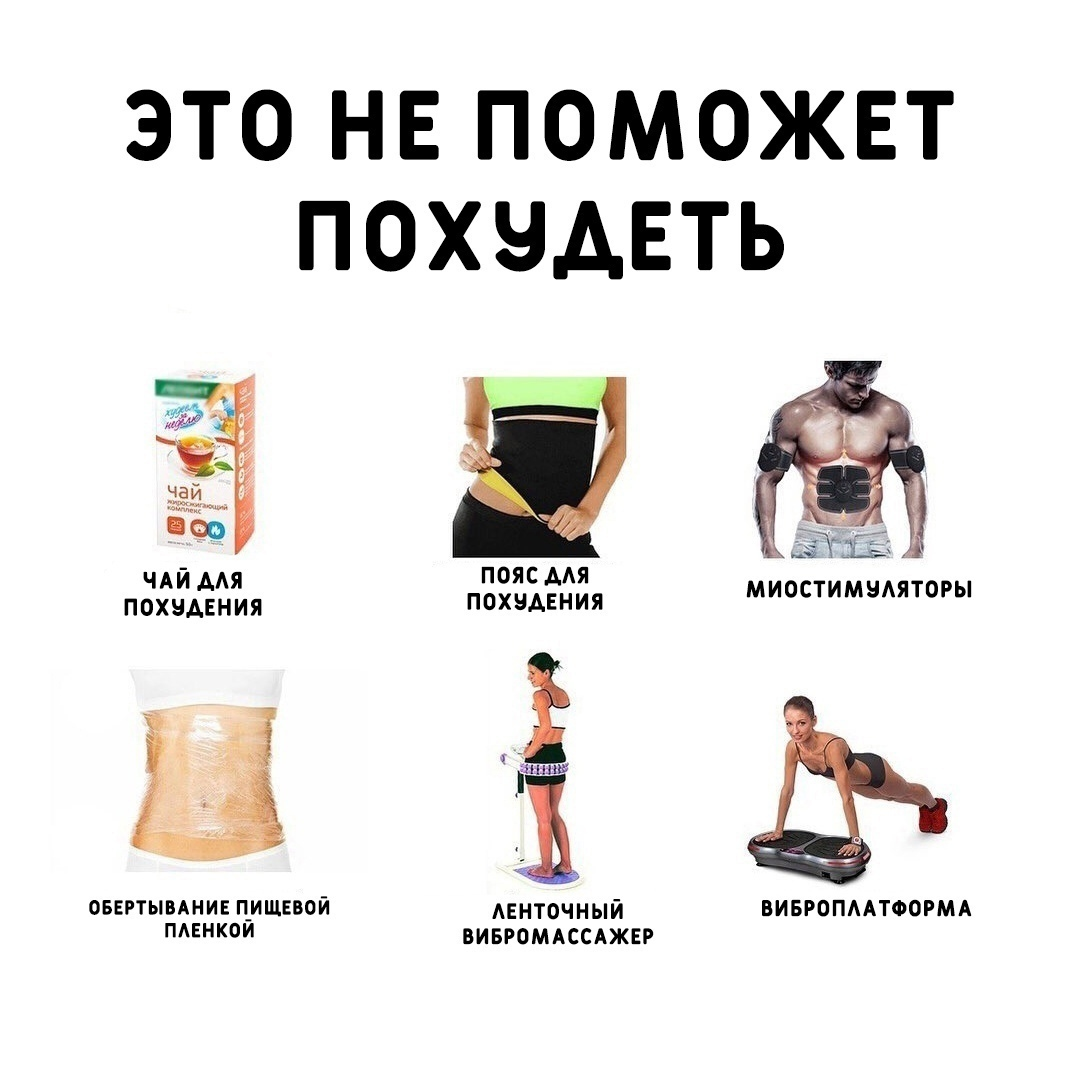 Единственно рабочий вариант — это небольшой дефицит калорий, добавляем умеренную физическую активность, соблюдаем режим и худеем, действительно, гарантированно