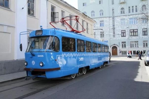 Москва подарила Нижнему Новгороду 35 старых трамва...