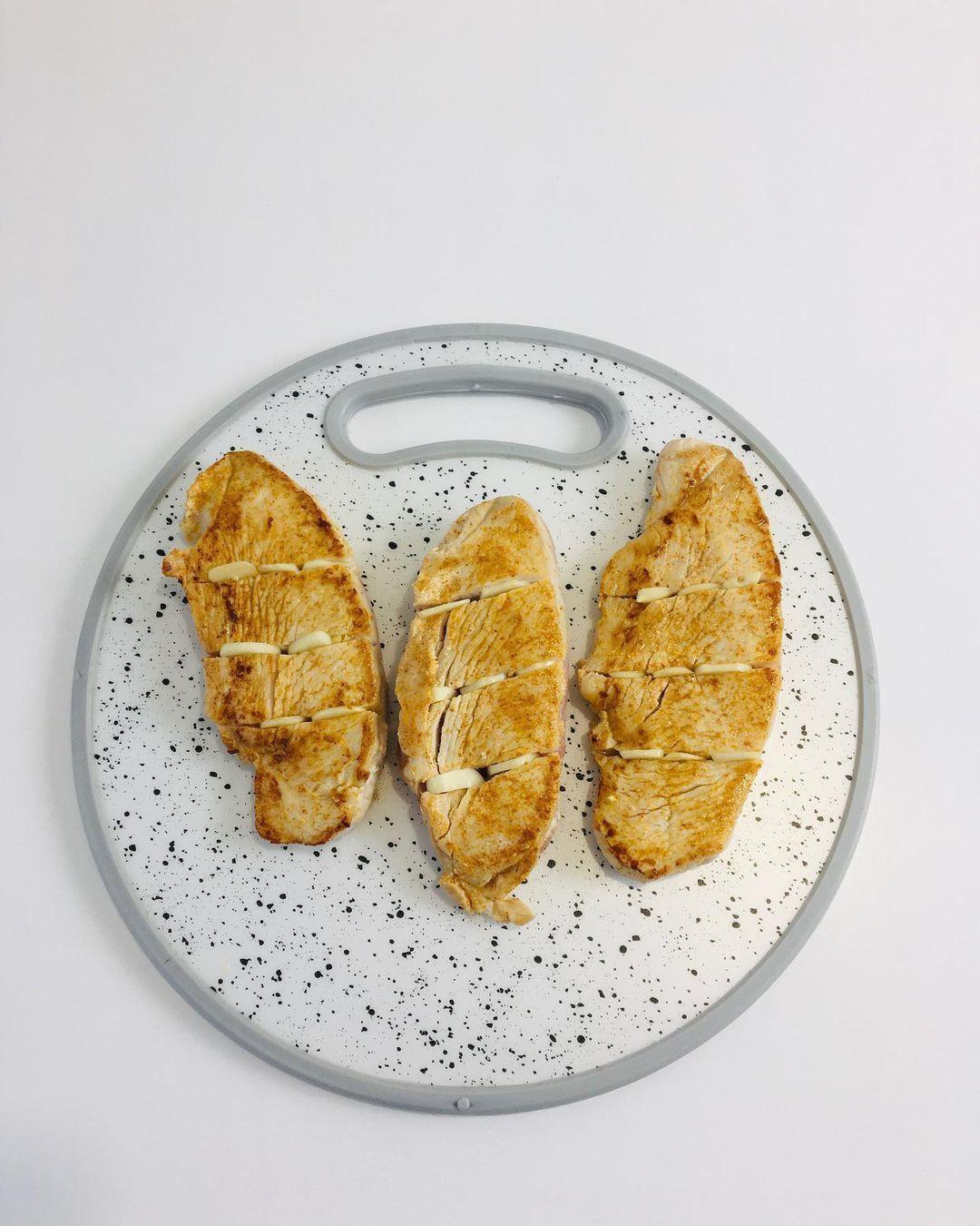 Филе индейки, томленное с рисом и овощами