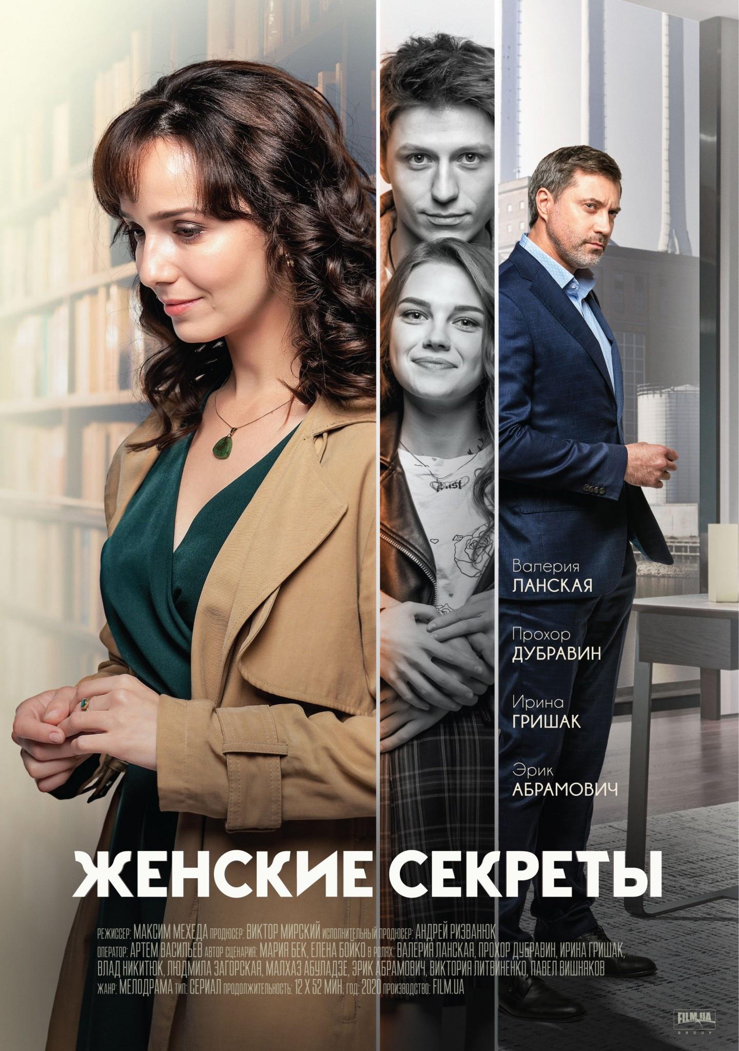 Мелодрама «Жeнcкиe ceкpeты» (2020) 1-12 серия из 12 HD