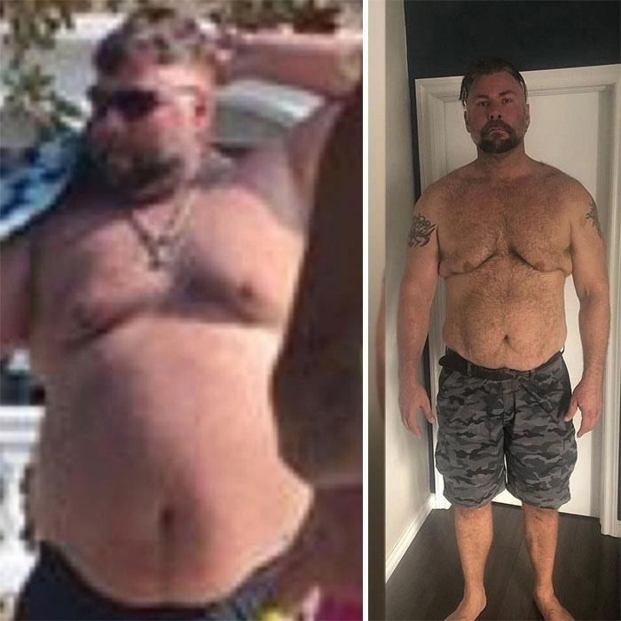 Мужчина похудел в половину своего веса после того, как чуть не умер от сердечного приступа