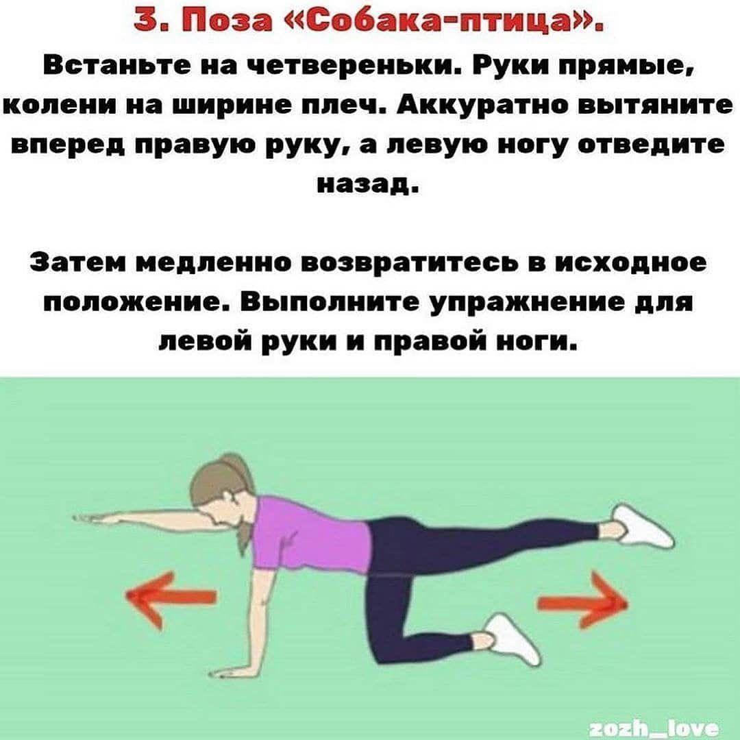 Отличные упражнения для идеального тела