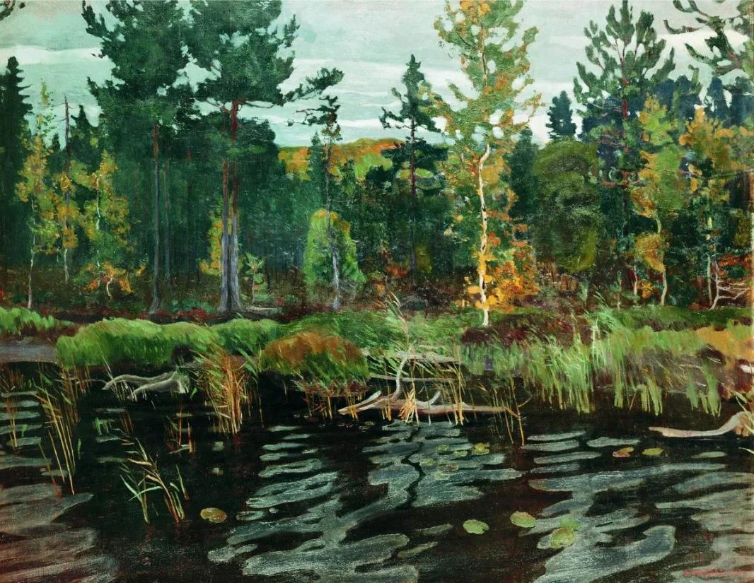 Картины Аркадия Александровича Рылова.