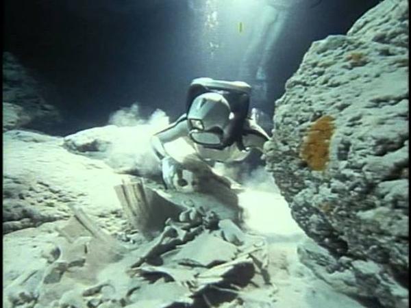 16 1989 Борнео Призрак морской черепахи Подводная одиссея команды Кусто