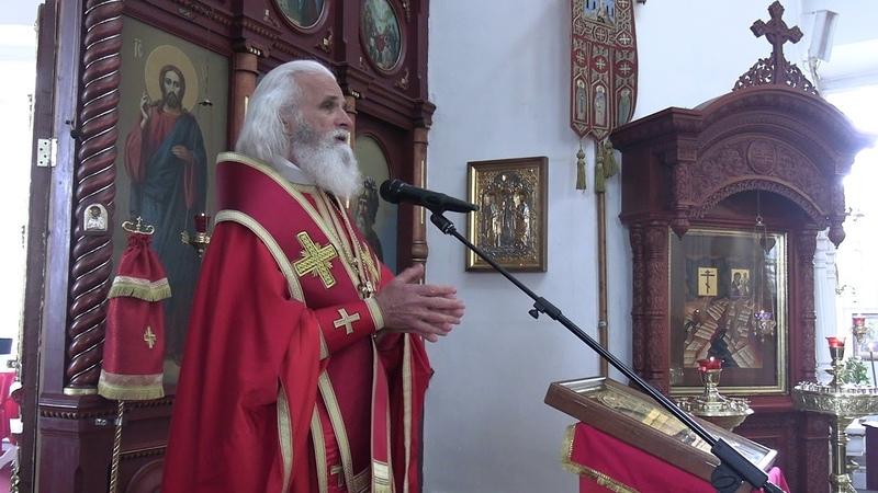 Епископ Адриан проповедь в день празднования перенесения мощей святителя Николая Чудотворца
