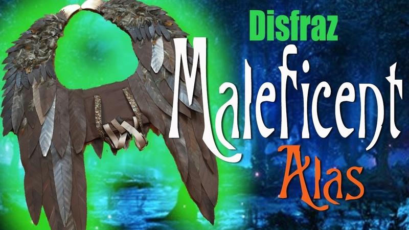 Pequeña Malefica Alas disfraz Young Maleficent Wings