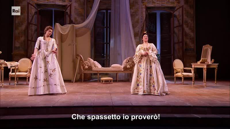 В А Моцарт Так поступают все Ла Скала 23 01 2021 Mozart Così fan tutte Teatro alla Scala