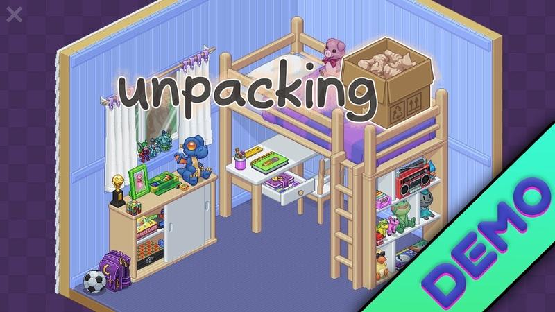 Unpacking DEMO - Gameplay - PC | Witch Beam | Español