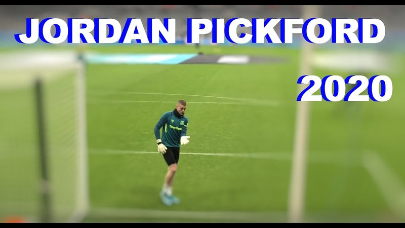 Jordan Pickford 2020 Warm Up Everton England Goalkeeper Training