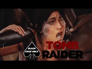 3D PORN Tomb Raider Big Black Cock Lara Croft