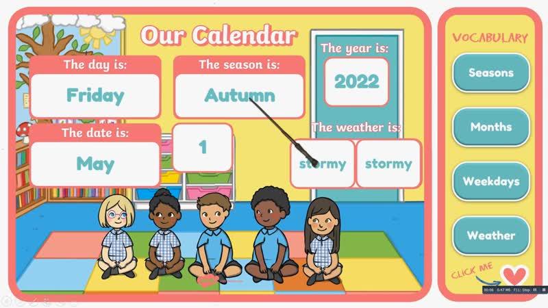 Free Interactive Calendar