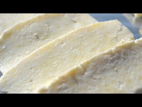 Домашний сыр из 2-х ингредиентов. По вкусу как Адыгейский.