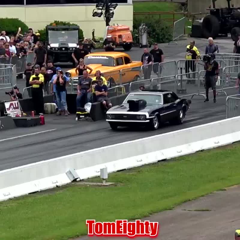 See ome awesome wheelies, crashes, close calls and fireballs that happen while drag racing.