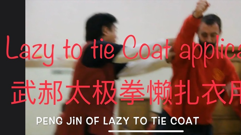 Tai Chi Application Wu Hao Style Lazy to Tie Coat 懒扎衣用法 by Master Jimmy Wong