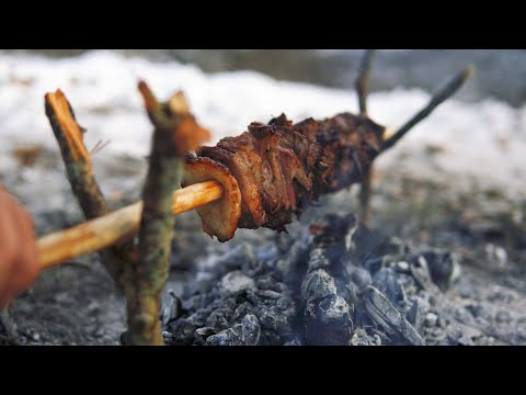 DONER KEBAB IN WILD CONDITIONS