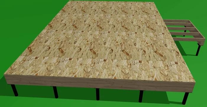 Проект каркасного дома 6х9 СВОИМИ РУКАМИ. Часть 2 (с подробным текстом и картинками), изображение №12