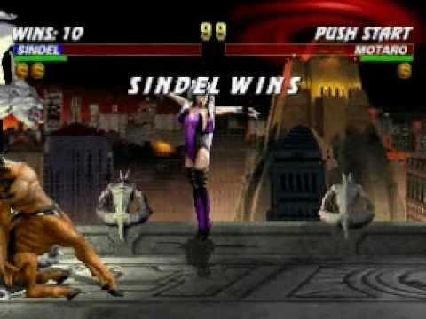 Mortal Kombat Trilogy Sindel Very Hard Champion Ladder