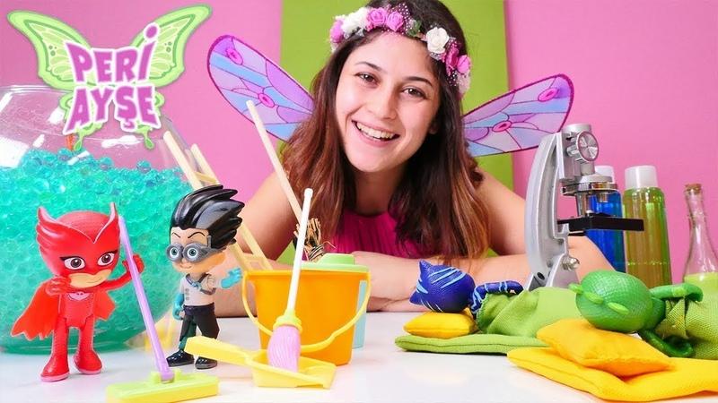Kız oyunları Peri Ayşe ve PJ Maskeliler ile sihir oyunu Çocuk videosu