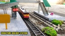 Indian Railway station Model | How to Make Railway Station | Miniature Vehicle India