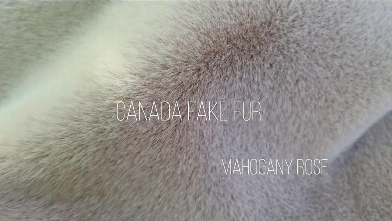 Искусственный мех CANADA FAKE MINK MIROFOX