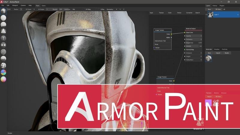 ArmorPaint Substance Painter Alternative