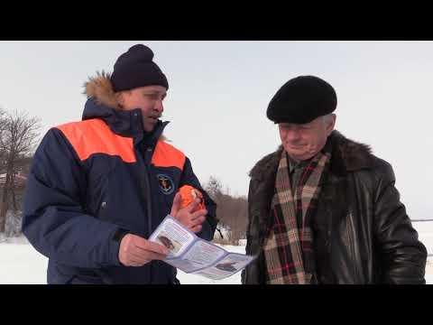 Инспекторы ГИМС предупреждают с потеплением лёд на водоемах становится более опасным
