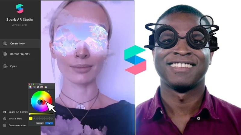 Make Your Own 3D Instagram Filters │Spark AR Basics Tutorial