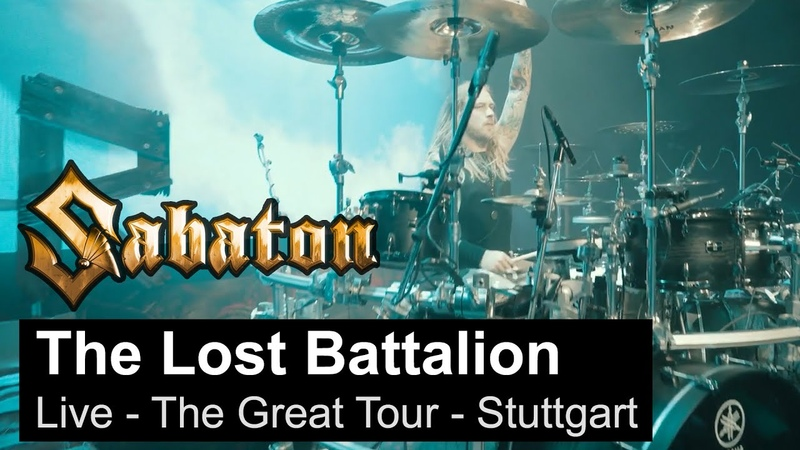 SABATON - The Lost Battalion (Live - The Great Tour - Stuttgart)