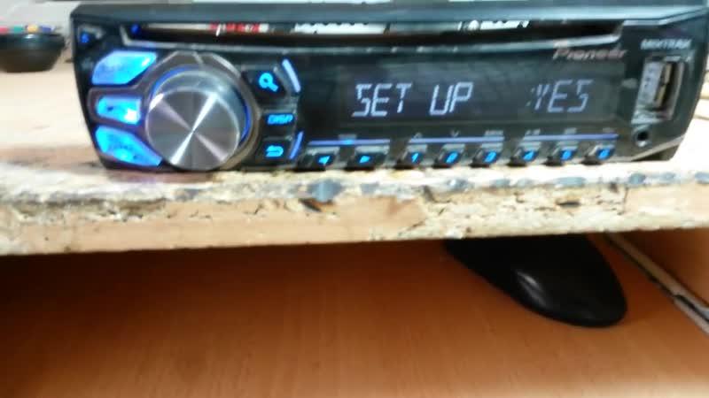 Ремонт PIONEER Check USB ВАЗ 21099