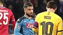 Lorenzo Insigne whistling vs Messi