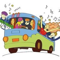 Логотип Автобус на летние фестивали из Н. Новгорода