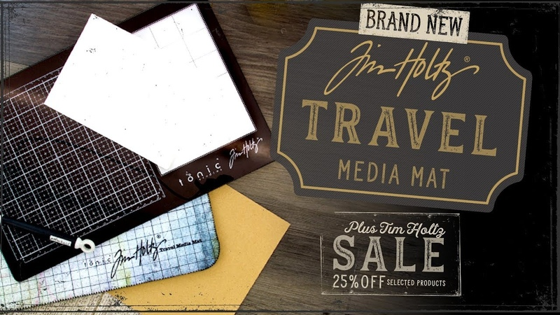 Tonic Introduces - Tim Holtz Left Right Travel Mats