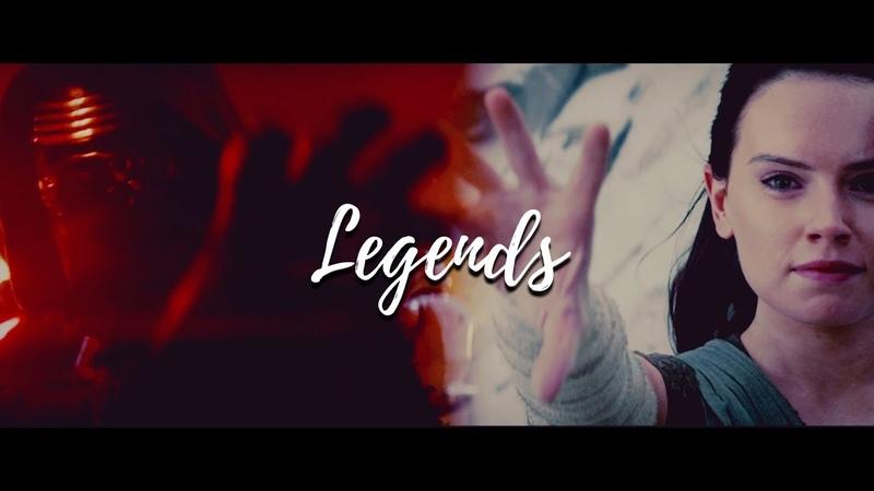 We Could Live Like Legends || Kylo Ren ♡ Rey (tlj HD) || Reylo