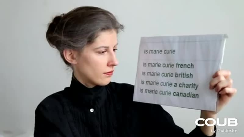 Marie Curie Answers The Web's Most Searched Questions And Gets Utterly Disappointed