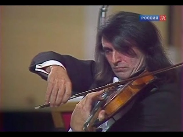 Yuri Bashmet plays Schnittke Monologue for viola and strings video 1989