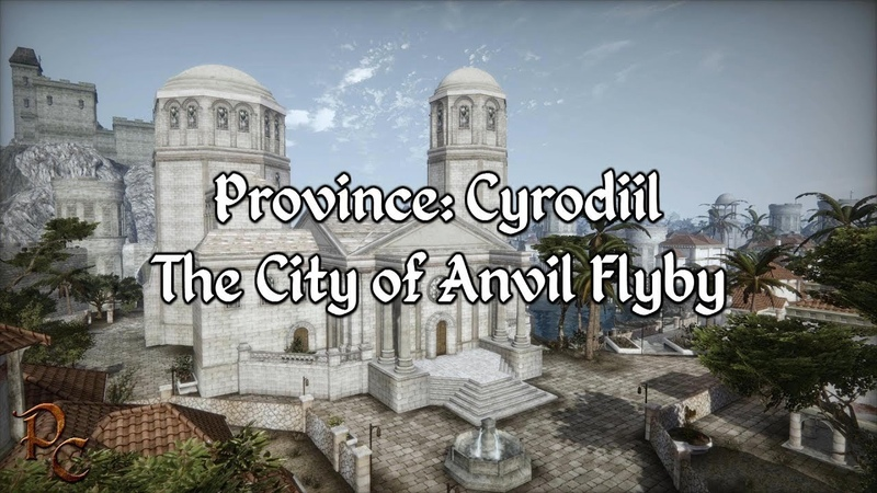Province Cyrodiil The City of Anvil Showcase A Morrowind Mod