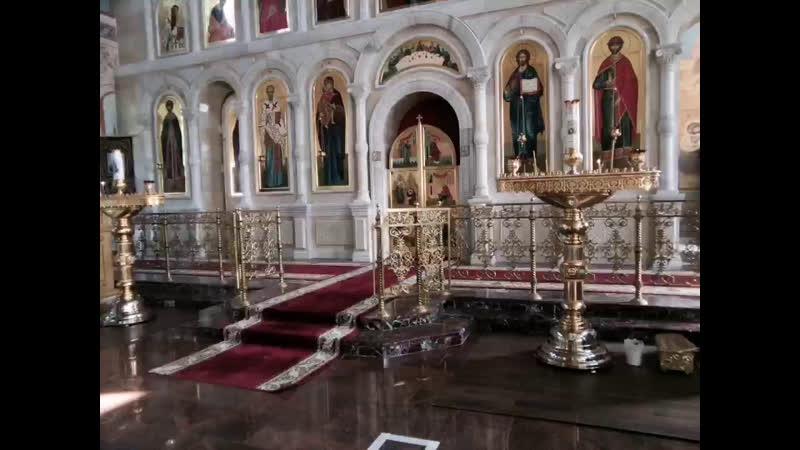 Отдание праздника Вознесения Господня Утреня Божественная литургия