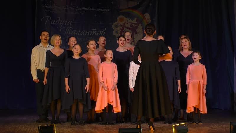 Вокально хоровой ансамбль VOICE Белые ангелы