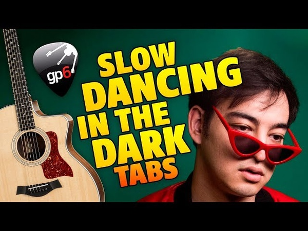Joji Slow Dancing In The Dark fingerstyle guitar cover with TABS
