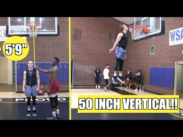 59 Riley Smith Has a 50 Inch Max Vertical!