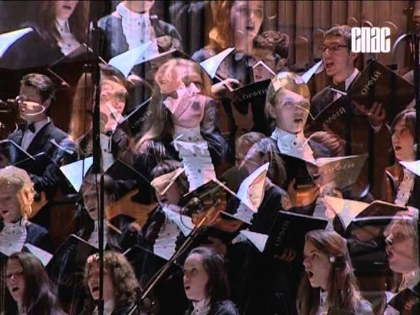Chamber Choir of Gnesins College conductor Petr Savinkov