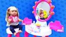 Беби Бон Мия и Студия красоты Barbie - Видео для девочек
