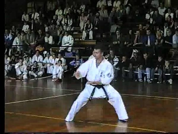 Seienchin Kata V Oyama Karate Katowice 1999