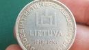 Что такое Столпы Гедиминаса или Обзор монеты 10 лит 1938 года Литва 20 лет Первой республики