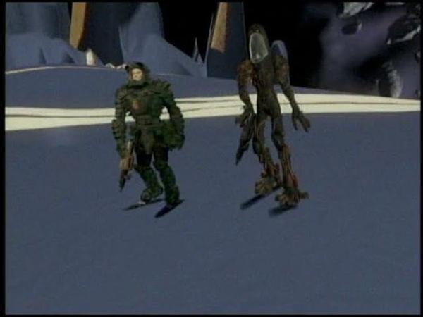 Starship Troopers Ice Olation