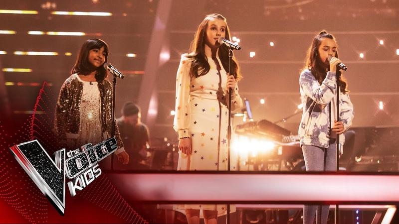 Lydia Aadya and Rae Perform 'Somewhere Only We Know' The Battles The Voice Kids UK 2020