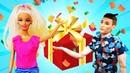 Видео про куклы и игрушки. Черепашки ниндзя, Кукла Барби и Кен нашли подарок! Тайная жизнь игрушек